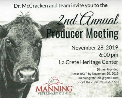 2nd Annual Producer Meeting-November 28, 2019
