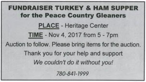 Gleaners Fundraiser