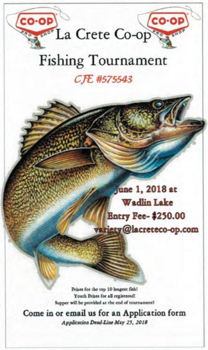 La Crete Co-op Fishing Tournament