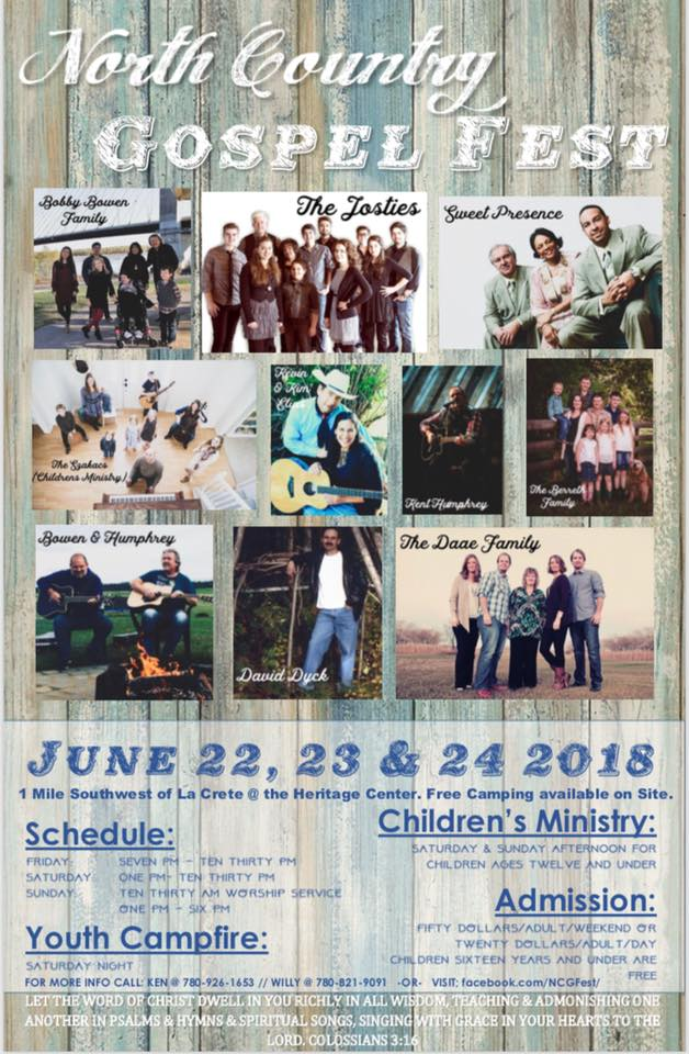North Country Gospel Fest