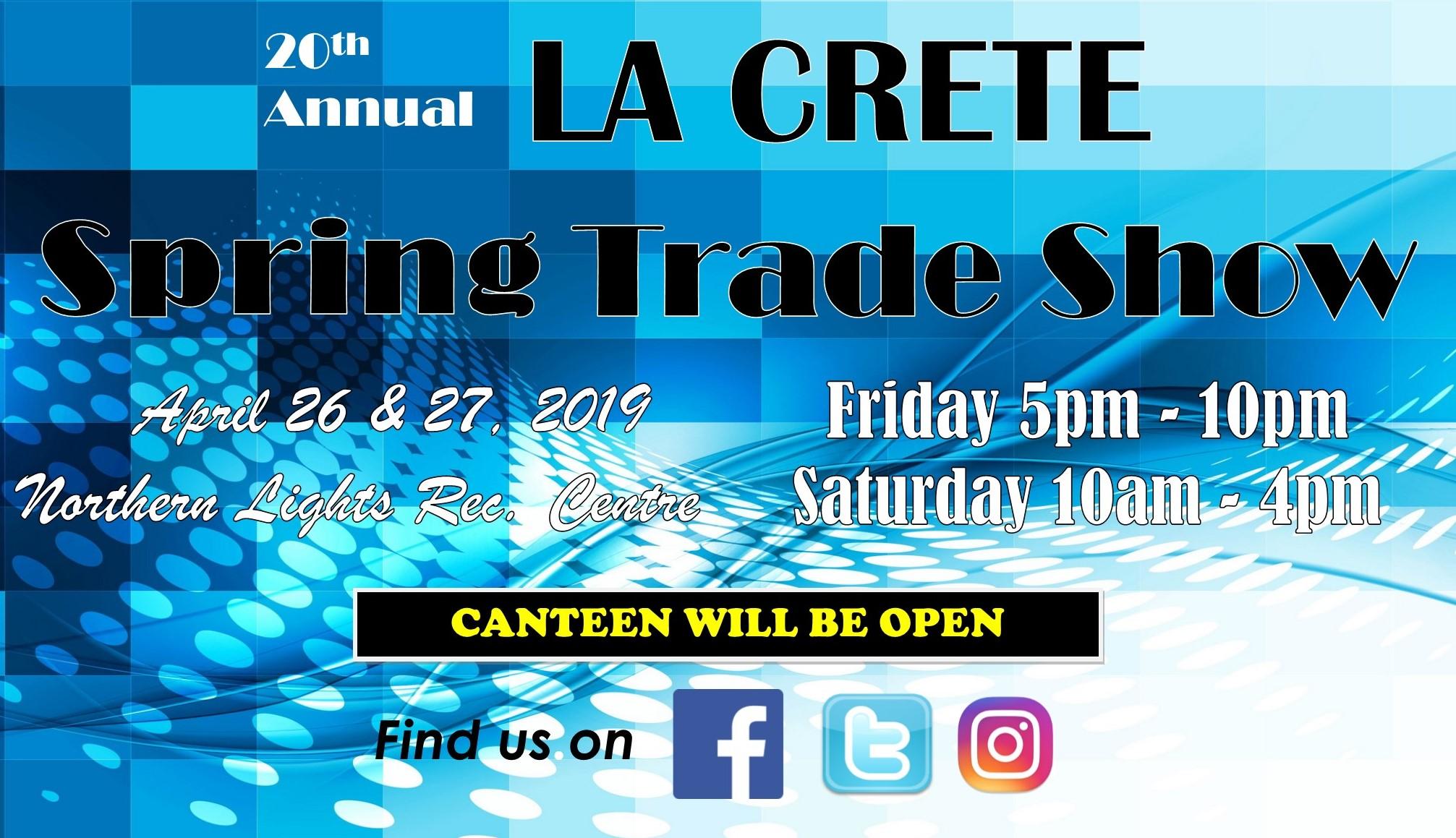 Trade show 2019 la crete area chamber of commerce for Craft shows in louisiana