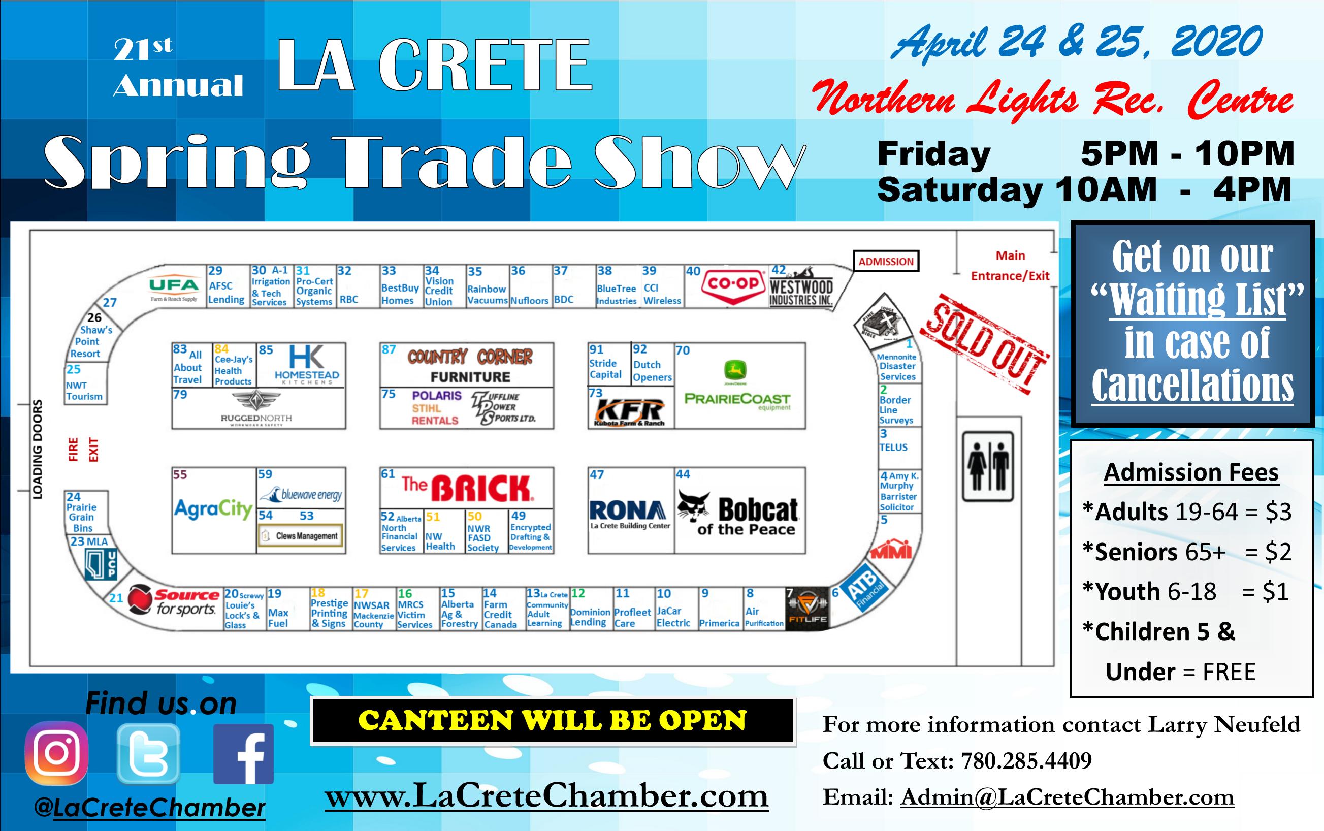 2020 Trade Show Main Arena Website Poster-Feb. 12