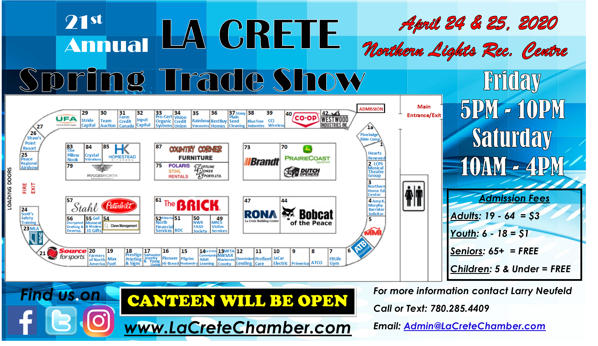 2020 Trade Show Main Arena Website Poster
