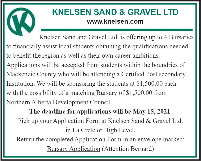 BDB-April 1-Knelsen's Bursaries