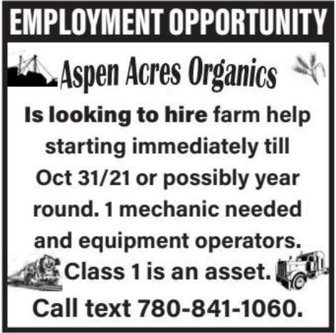 BDB Aug 16-Aspen Acres-Farm Hand