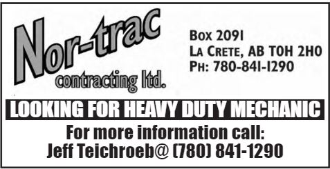 BDB Aug 16-Nor-Trak-Heavy Duty Mechanic
