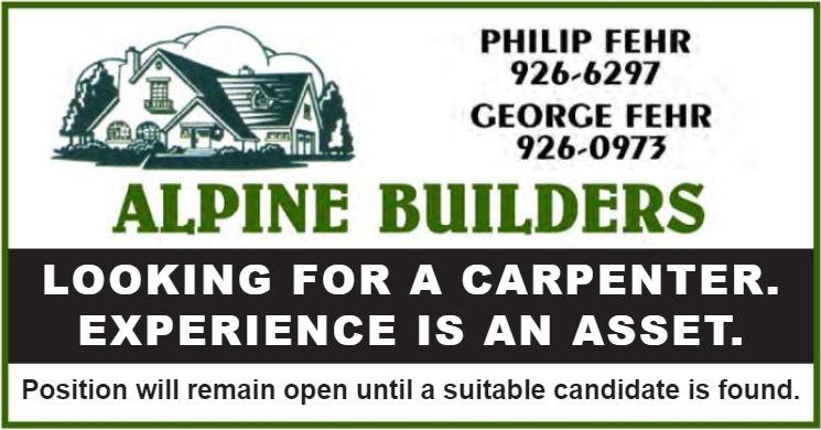 BDB Aug.1-Alpine-Carpenters