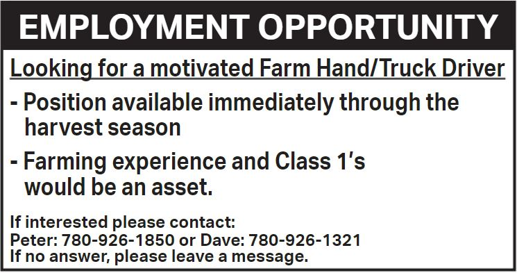 BDB Aug.1-Farm Hand-Driver