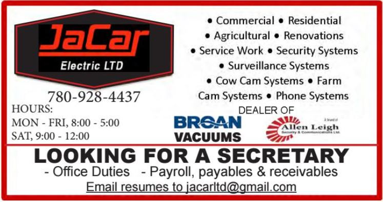 BDB Aug.1-JaCar-Secretary