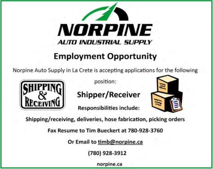 BDB Aug.1-Norpine-Ship-Rec