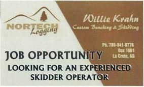 BDB Dec 1-Nortech Logging-Skidder Operator