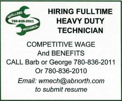 BDB Jan 1 Whillans Mechanical-FT Heavy Duty Technician