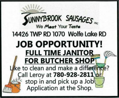 BDB-June 1, 2020 Sunnybrook-Janitor