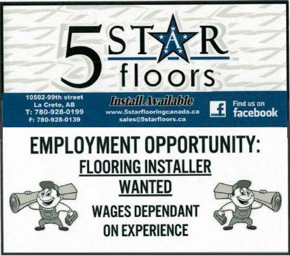 BDB March 1, 2020-5 Star Floors-Flooring Installer