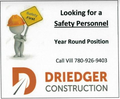 BDB March 16, 2020-Driedger Const.-Safety Personal
