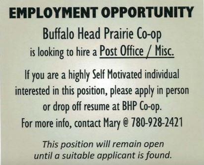 BDB October 16, 2019-BHP Co-op Post Office-misc