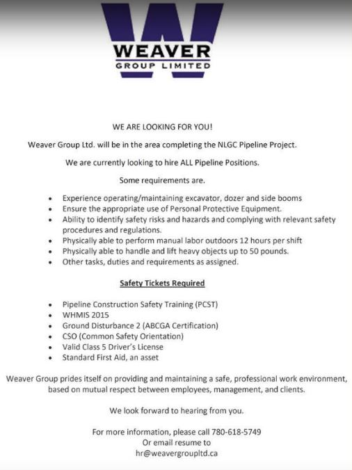 BDB Sept 1-Weaver Group Ltd