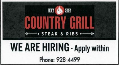 BDB Sept. 16, 2020-Country Grill
