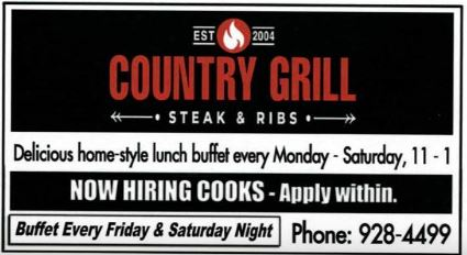 Country Grill-Cooks