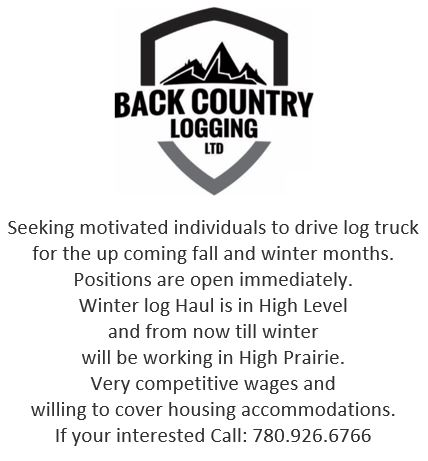 Emailed-Aug 21-Back Country Logging-Log Truck Drivers