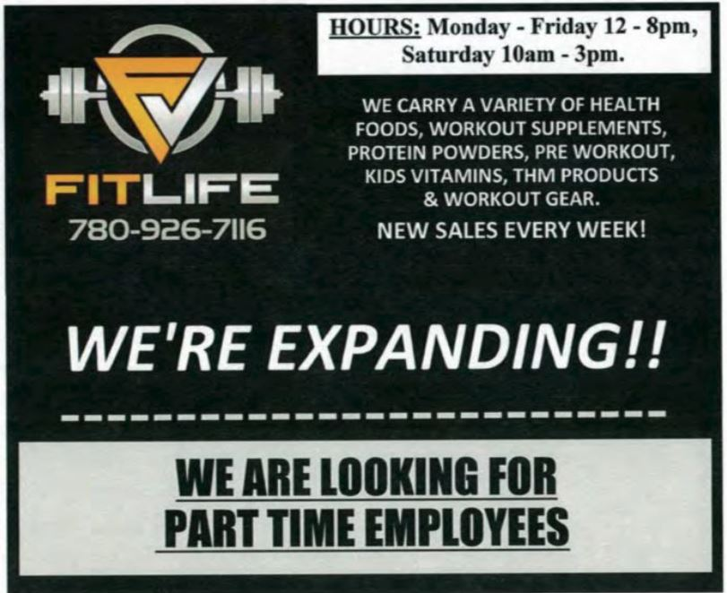FitLife Gym Part Time Workers