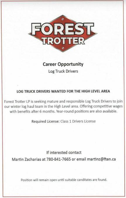 Forest Trotter-Log Truck Driver-BDB October 1, 2019