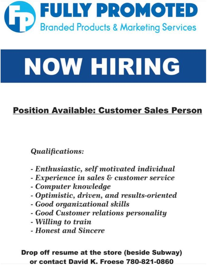 Fully Promoted Job Ad-FB July 30, 2019