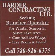 Harder Contracting - Buncher Operator-BDB November 1, 2019