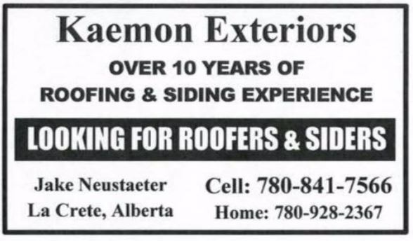 Kaemon Exteriors Roofers and Siders