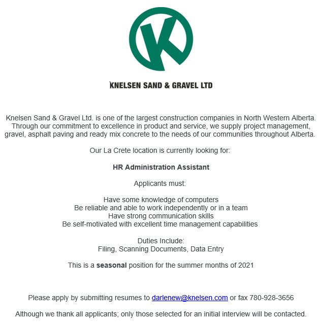 Knelsen-emailed May 12