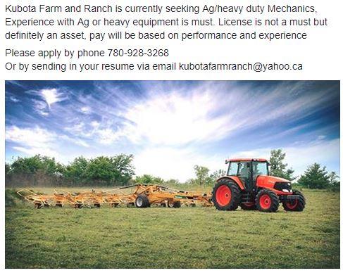 Kubota Farm & Ranch