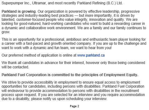 Parkland Yard Service Attendant-Page 2-June 6, 2019
