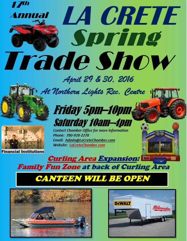 Trade Show 2016 Event Poster