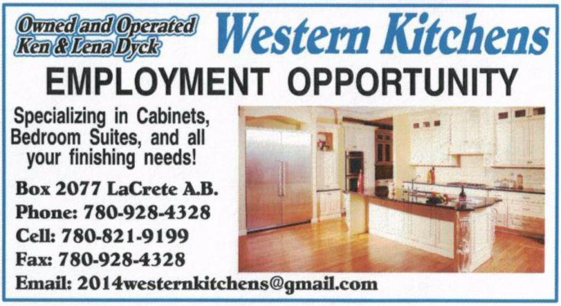 Western Kitchens Carpenter