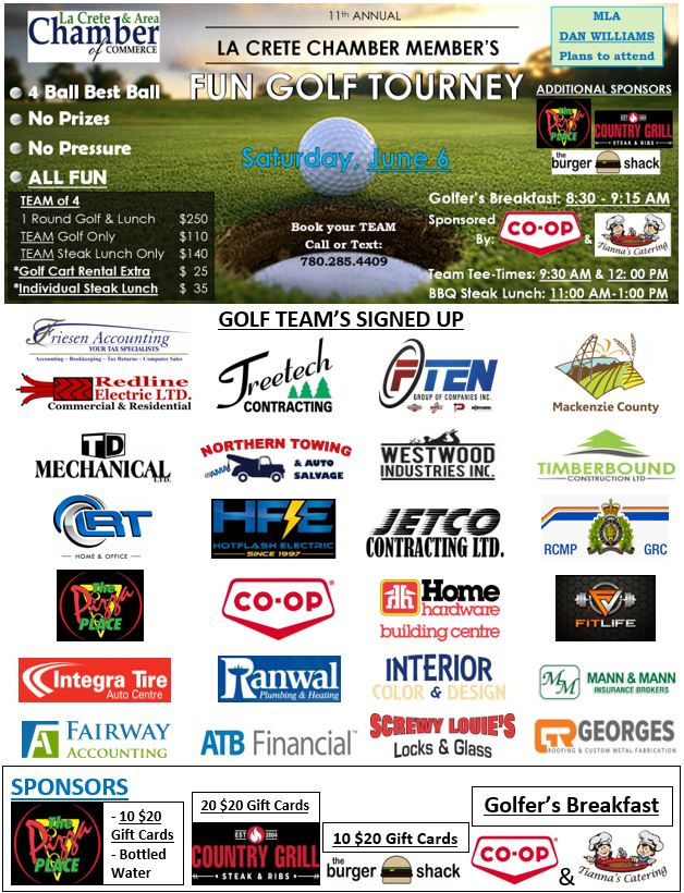 2020 Golf Tourney-Participant Logos June 6