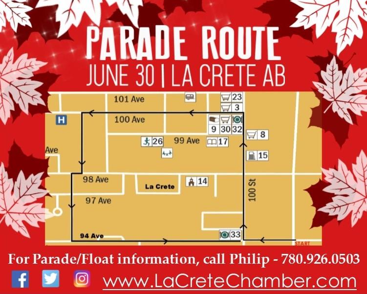 2018 Parade Route Half Page Ad