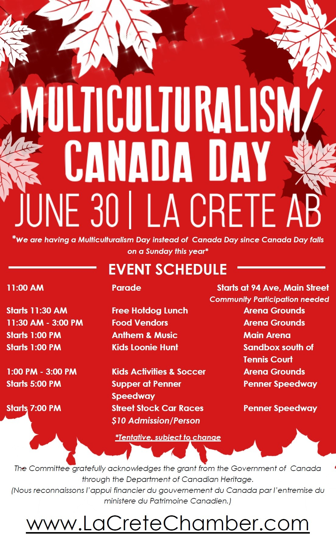 Multiculturalism - Canada Day Poster 2018 REVAMP