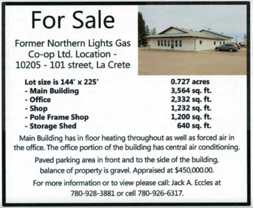 Northern Lights Gas Co-op Building