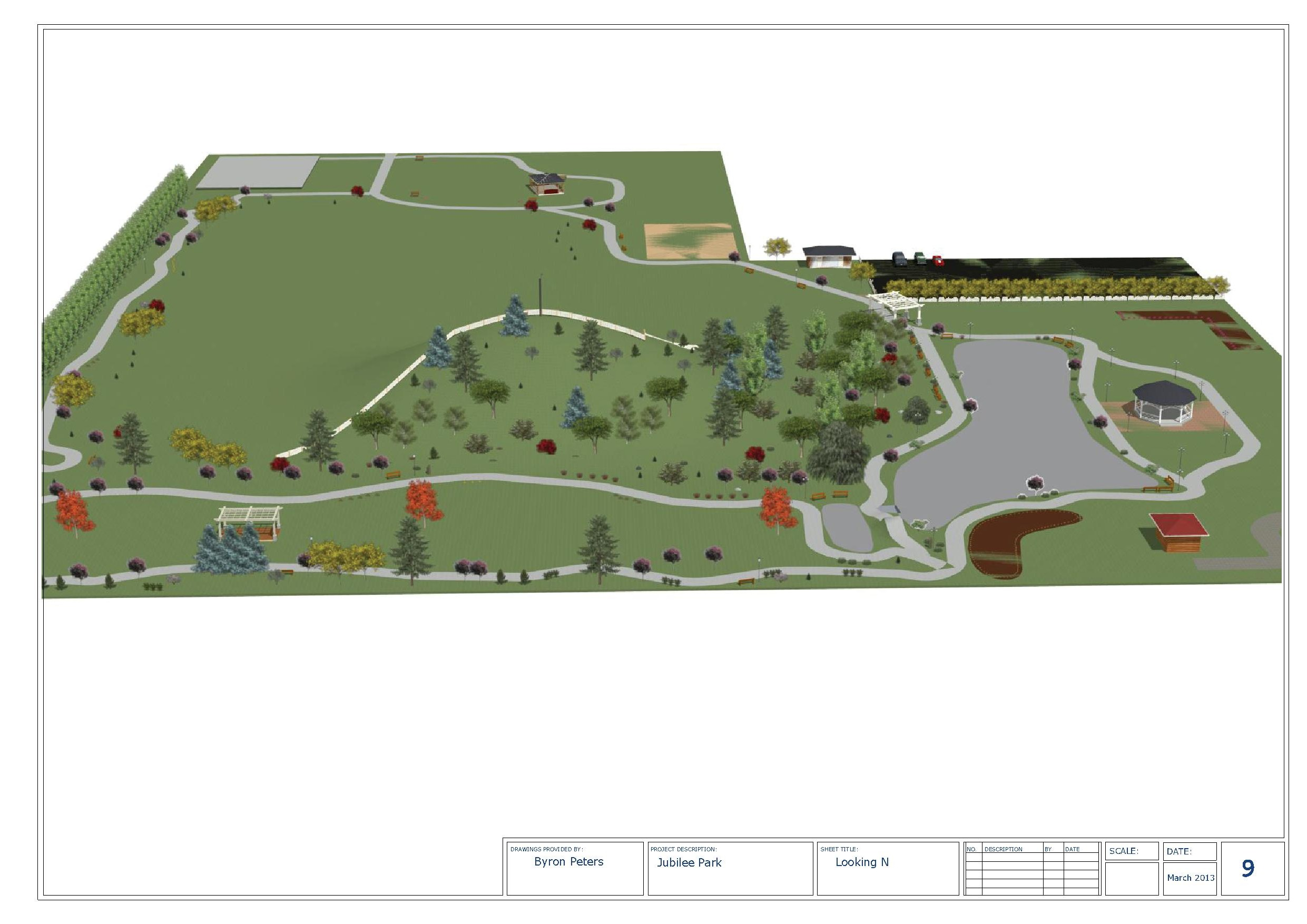 Jubilee Park Proposed Layout 9