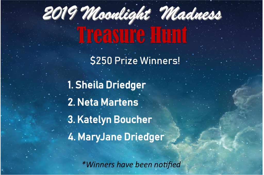 2019 MM-$250 Participating Businesses Cash Winners