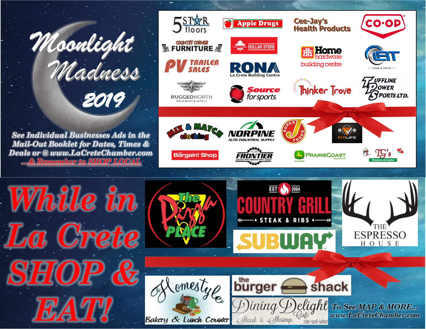 2019 MM Participating Business & Restautrants Poster