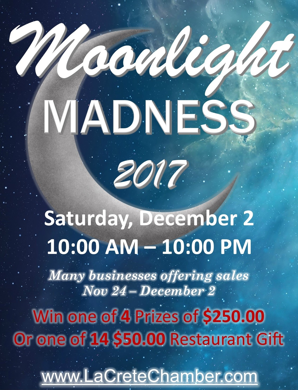Moonlight Madness 2017 Poster