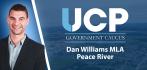 Dan Williams (UCP) – MLA for Peace River
