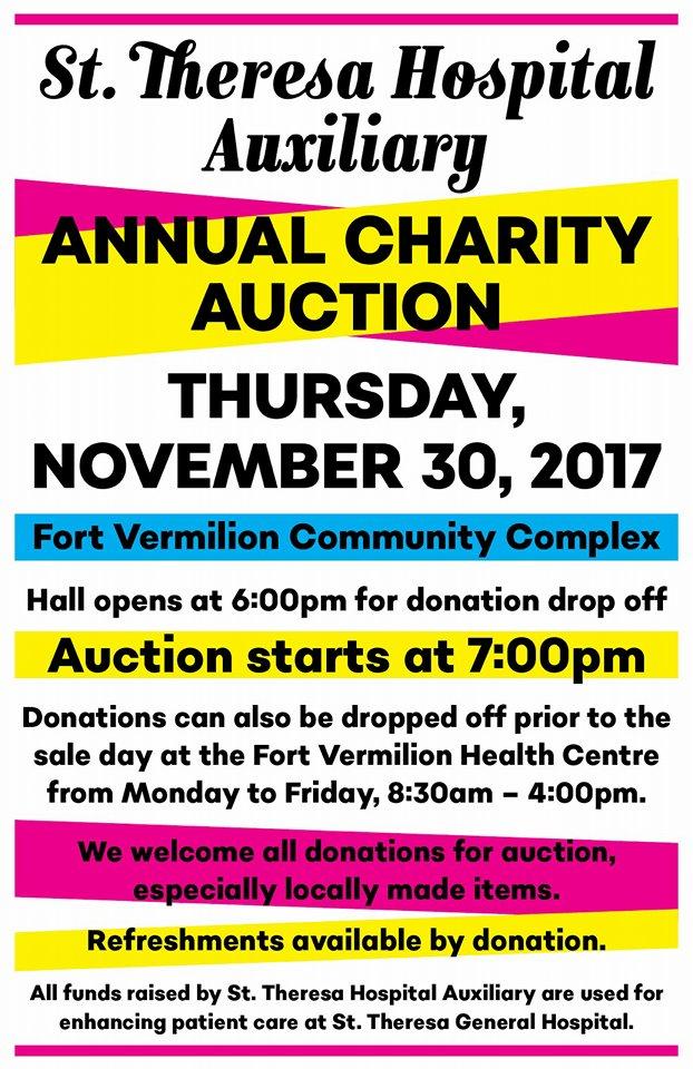 Hospital Annual Charity Auction