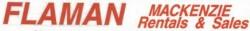 Flaman Mackenzie Rentals & Sales