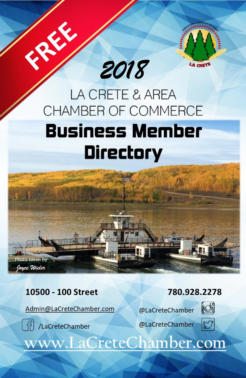 2018 Business Directory Cover