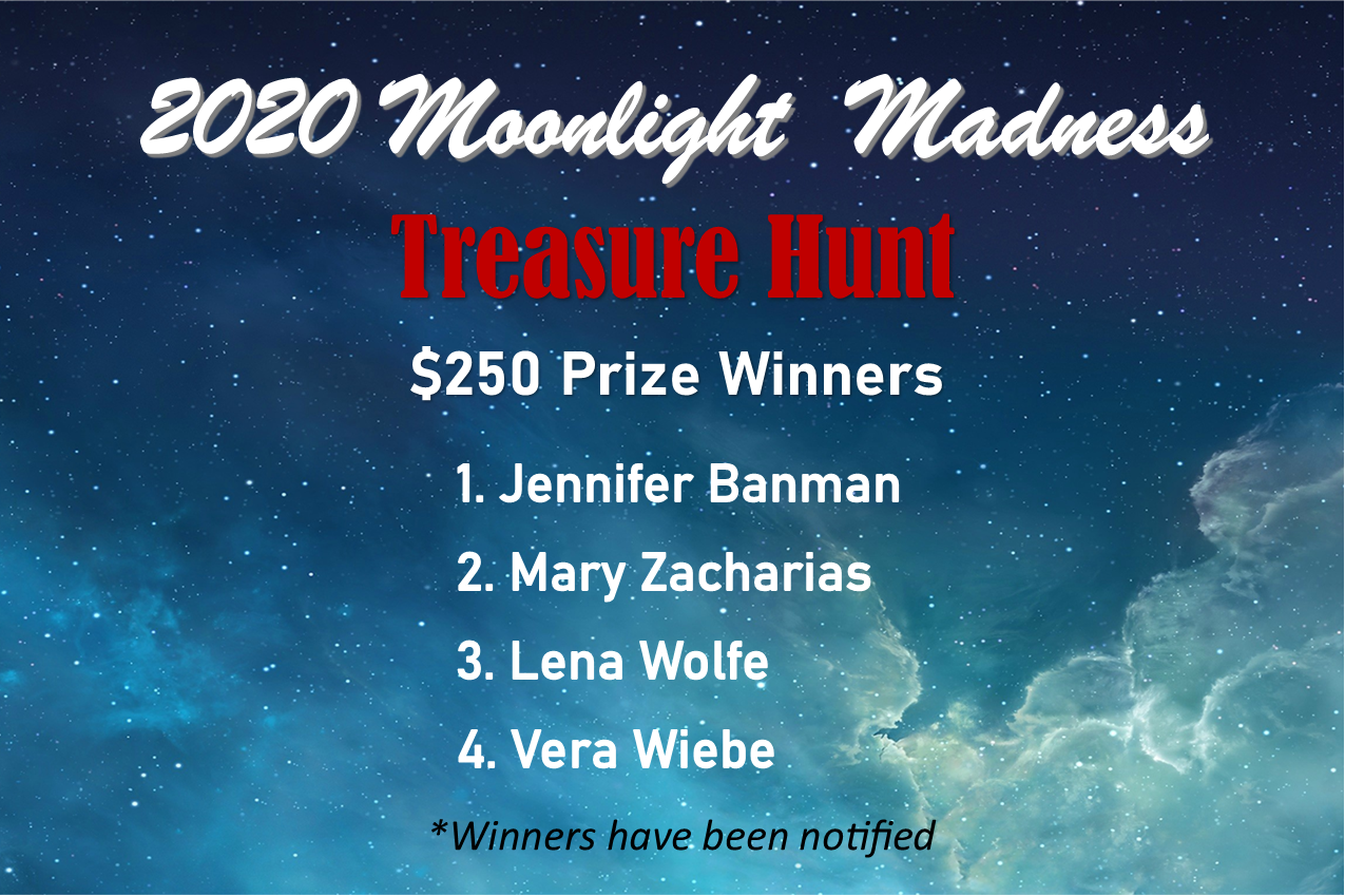 2020 MM Treasure Hunt $250 Voucher Winners