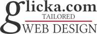 Glicka.com Web Design